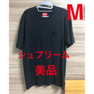 シュプリーム(Supreme)のシュプリーム ポケットTシャツ 黒 M(Tシャツ/カットソー(半袖/袖なし))
