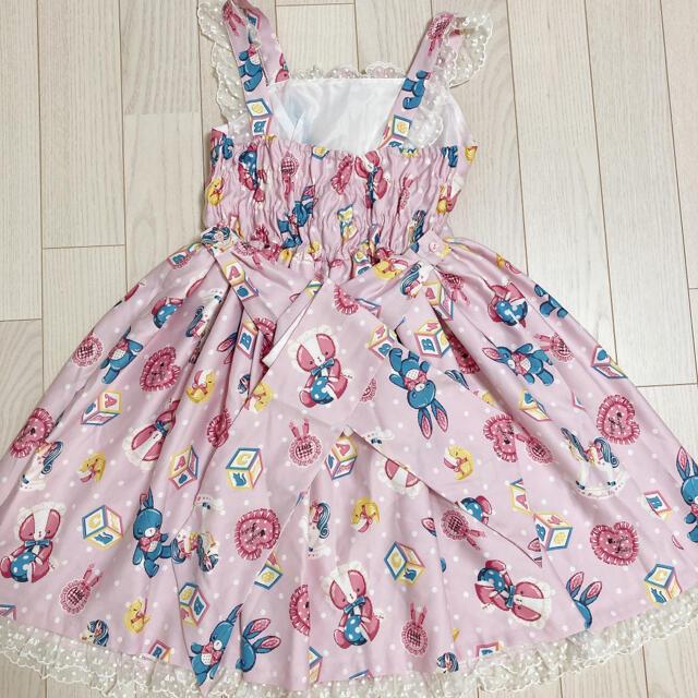 Angelic Pretty(アンジェリックプリティー)のAngelic Pretty Toy Dream jsk ★リング ネックレス レディースのワンピース(ひざ丈ワンピース)の商品写真