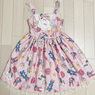 Angelic Pretty Toy Dream jsk ★リング ネックレス(ひざ丈ワンピース)