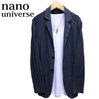 ナノユニバース(nano・universe)のnano universe テーラードジャケット カットジャケット 羽織りもの(テーラードジャケット)