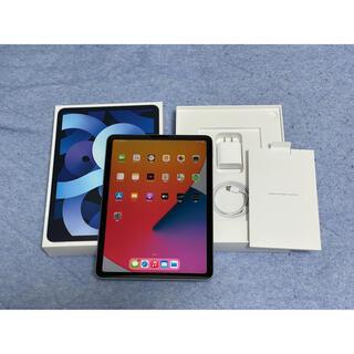 iPad - ipad air4 2020 第4世代 wifiモデル 64gb ブルー