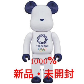 メディコムトイ(MEDICOM TOY)のBE@RBRICK 東京 2020 オリンピック エンブレム 1000% (キャラクターグッズ)