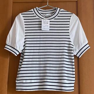 archives - 新品 ♡archives♡プルオーバー♡半袖Tシャツ♡お袖透け感あり