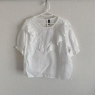 エイチアンドエム(H&M)の未使用 半袖(シャツ/ブラウス(半袖/袖なし))