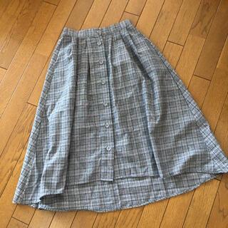 オリーブデオリーブ(OLIVEdesOLIVE)のオリーブ デ オリーブ フロントボタンロングスカート(ロングスカート)