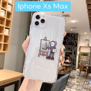 「iPhone XSMax用」KAWS×セサミストリートスマホケース(iPhoneケース)