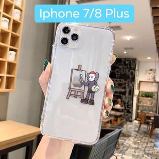 「iPhone 7/8Plus用」KAWS×セサミストリートスマホケース(iPhoneケース)