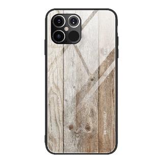 携帯ケース スマホケース iPhone12ケース(6.1インチ)木目調(iPhoneケース)