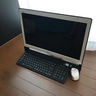 バイオ(VAIO)のSONY VAIO J VPCJ137FJ/WI デスクトップパソコン(デスクトップ型PC)