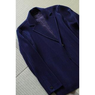 ISSEY MIYAKE - ISSEY MIYAKE homme plisse ジャケット