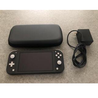 Nintendo Switch - Nintendo Switch Lite本体、充電器、ケース