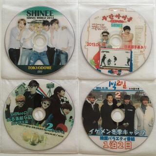 シャイニー(SHINee)のSHINEE DVD4枚セット(K-POP/アジア)