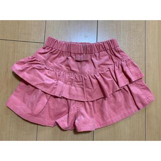 【未使用】ショートパンツ キュロット ズボン 女の子 90