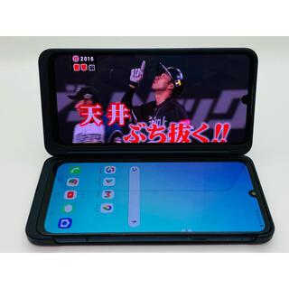 エルジーエレクトロニクス(LG Electronics)の[1080] LG V50s ThinQ 256GB ブラック SIMフリー (スマートフォン本体)