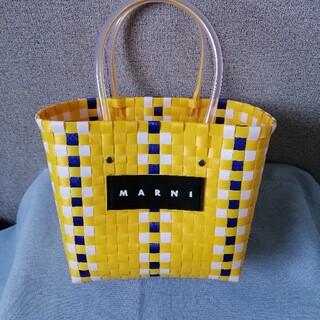 Marni - 美品、送料無料 ●マルニ● かごバッグ ハンドバッグ タグ付き