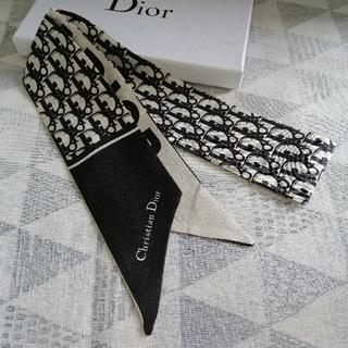 Dior - 飾り 小物 スカーフ ディオール 箱付き  黒