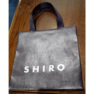 シロ(shiro)の紙袋 SHIRO(ショップ袋)