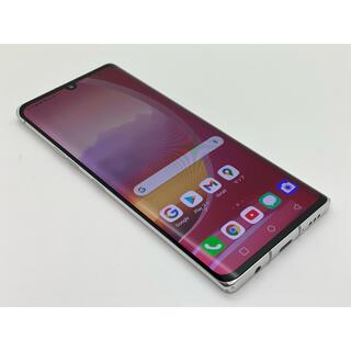 エルジーエレクトロニクス(LG Electronics)の[1086] LG VELVET 128GB ホワイト 5G SIMフリー(スマートフォン本体)