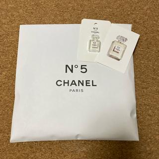 シャネル(CHANEL)のCHANEL N°5  ノベルティーメッシュバッグおまけ付(ノベルティグッズ)