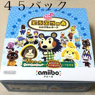 ニンテンドウ(任天堂)の45パック どうぶつの森  amiiboカード 第3弾(Box/デッキ/パック)