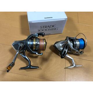 SHIMANO - ストラディック3000MHGとアルテグラ2500S