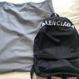 バレンシアガ(Balenciaga)のBALENCIAGA ウィール バックパック(バッグパック/リュック)