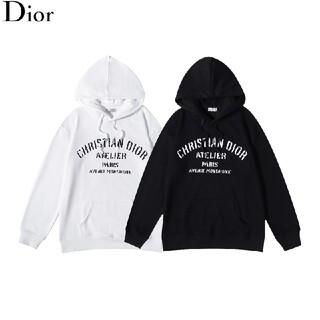 Dior - 2枚1000円引 DIOR ディオール  パーカ 黒白  秋S‐XL