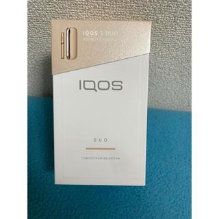 アイコス(IQOS)のiQOS3 アイコス3 DUO ブリリアントゴールド 美品(タバコグッズ)