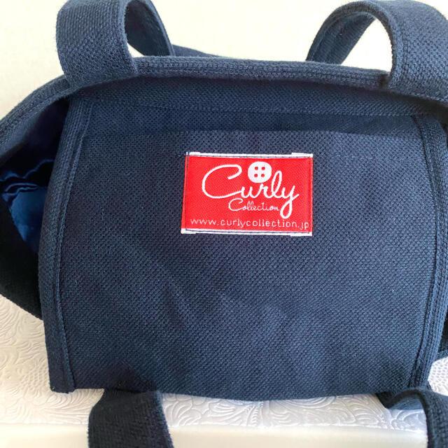 Curly Collection(カーリーコレクション)のCURLY コレクション キラキラ可愛いネイビー スパンコールトートバッグ 新品 レディースのバッグ(トートバッグ)の商品写真