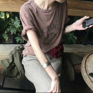 L'Appartement DEUXIEME CLASSE - 新品未使用 レミレリーフ アパルトモン別注 Tシャツ