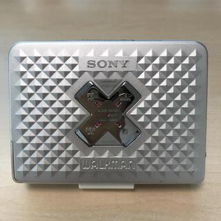 ソニー(SONY)の【美品DE可動品】SONY Cassette WALKMAN WM-EX655(ポータブルプレーヤー)
