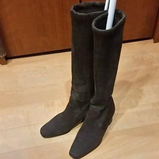イヴサンローランボーテ(Yves Saint Laurent Beaute)のーhana様専用ーサンローラン  ストレッチロングブーツ  22.5(ブーツ)