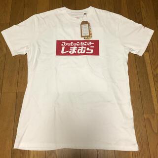 シマムラ(しまむら)の激レア入手困難平成しまむらBOXロゴTシャツ(Tシャツ/カットソー(半袖/袖なし))