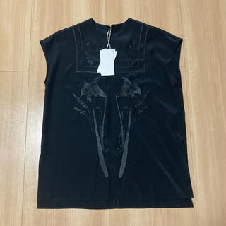mame - 新品★mame Embroidered French Sleeve Tunic