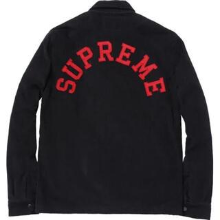シュプリーム(Supreme)のsupreme 11aw 11AW バックアーチロゴ コーデュロイジャケット L(ブルゾン)