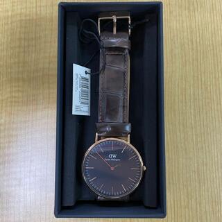 ダニエルウェリントン(Daniel Wellington)の【人気】ダニエルウェリントン DW00100128 時計 腕時計(腕時計(アナログ))