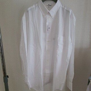 Courreges - 新品タグ付 クレージュ メンズ白ドレスシャツ ワイシャツ M
