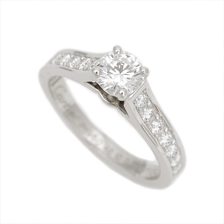 Cartier - カルティエ Cartier ソリテールリング リング・指輪 レディース【中古】