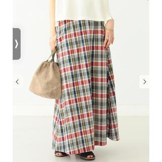 BEAMS BOY - 期間値下げ 新品 BEAMS BOY マドラスチェック Aライン スカート