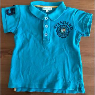 サンカンシオン(3can4on)の3can4on ポロシャツ 90 グリーン サンカンシオン(Tシャツ/カットソー)
