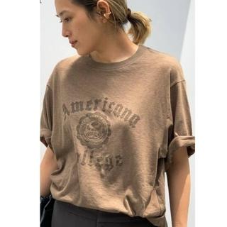 L'Appartement DEUXIEME CLASSE - AP STUDIO AMERICANA/アメリカーナ別注College Tシャツ