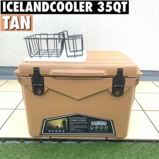 レア色 アイスランドクーラーボックス 35QT ICELAND cooler