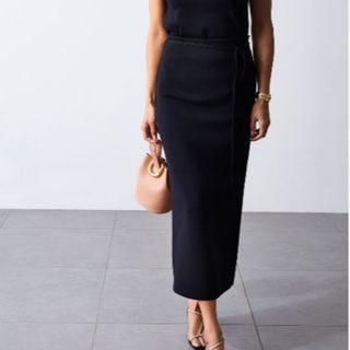 Mila Owen - 2wayスリットロングニットスカート