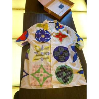 ルイヴィトン(LOUIS VUITTON)のルイヴィトン アロハシャツ マルチカラー モノグラム ハワイアンフィットシャツ(シャツ)