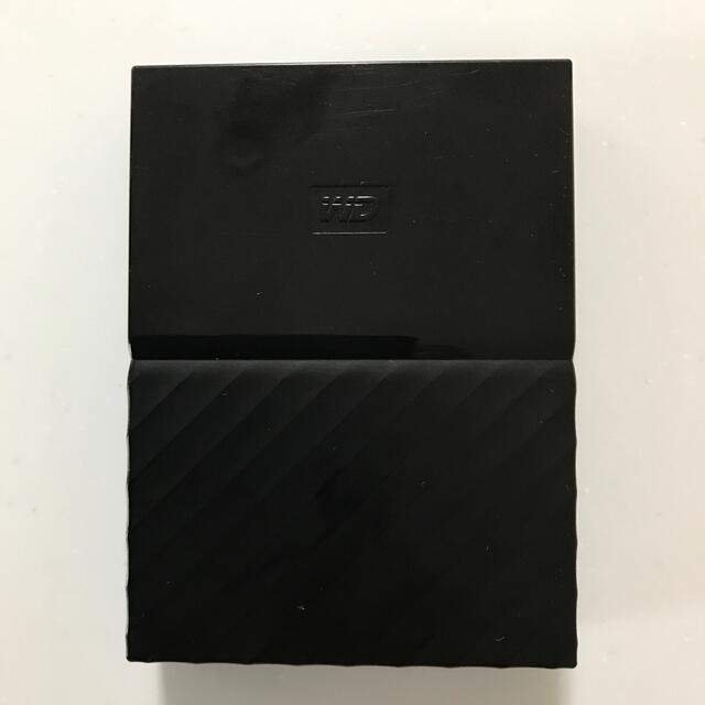 My Passport 2TB WD HDD ポータブル ハードディスク スマホ/家電/カメラのPC/タブレット(PC周辺機器)の商品写真