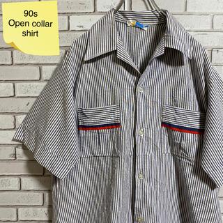 90s 古着 開襟シャツ HAWAII製 ビッグシルエット ゆるだぼ(シャツ)