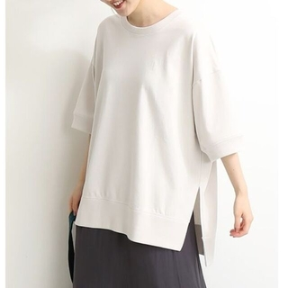 IENA - 20SS イエナ ワイド スリットTシャツ