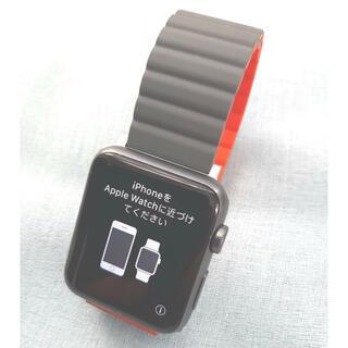 アップルウォッチ(Apple Watch)のAppleWatch SPORT42㎜アップルウォッチスペースグレイSPORT (その他)