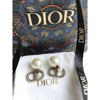 Christian Dior - クリスチャンディオール パール ピアス