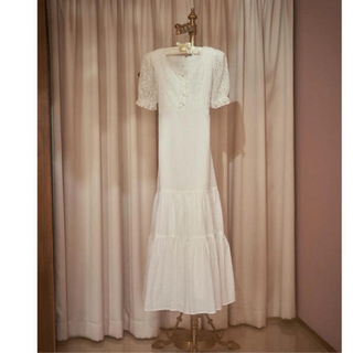 one after another NICE CLAUP - vintage princess long dress treat ürself